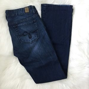 Guess Low Rise Boot Cut Jeans